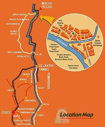 Aguas Calientes Peru Map.Hatuchay Tower Hotel Aguas Calientes Peru Hotels Reservation