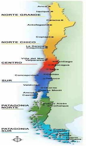 Peru Temperature Map