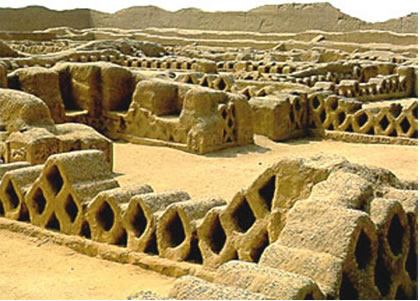 Mind-Blowing Lost City Found In Peru Chan_chan