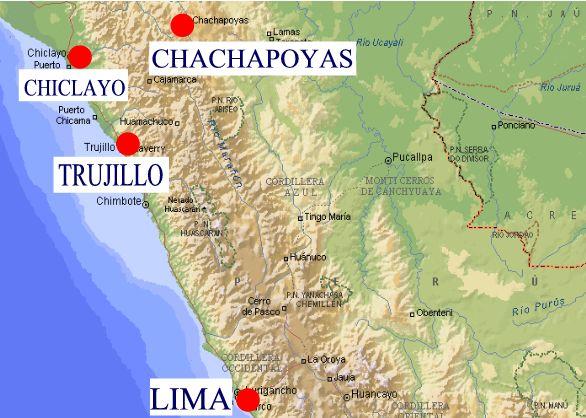 Peru Maps - Peru map