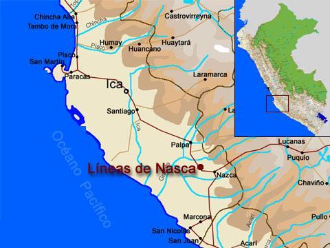 Chan Chan Peru Map.Nazca Lines Map