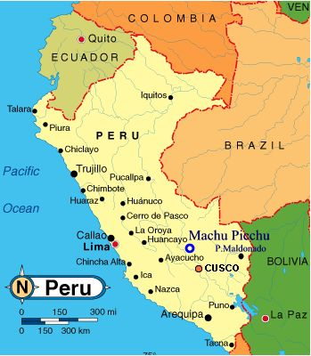 Airports In Peru Map.Peru Holiday An Overview Of The Country