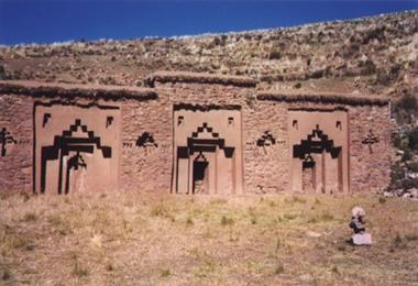Lake Titicaca Ruins