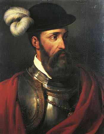 Francisco Pizarro portrait