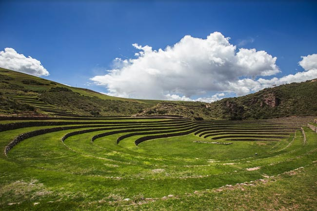 Moray Terraces, Sacred Valley, Peru