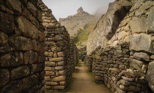 Ruins inside Machu Picchu